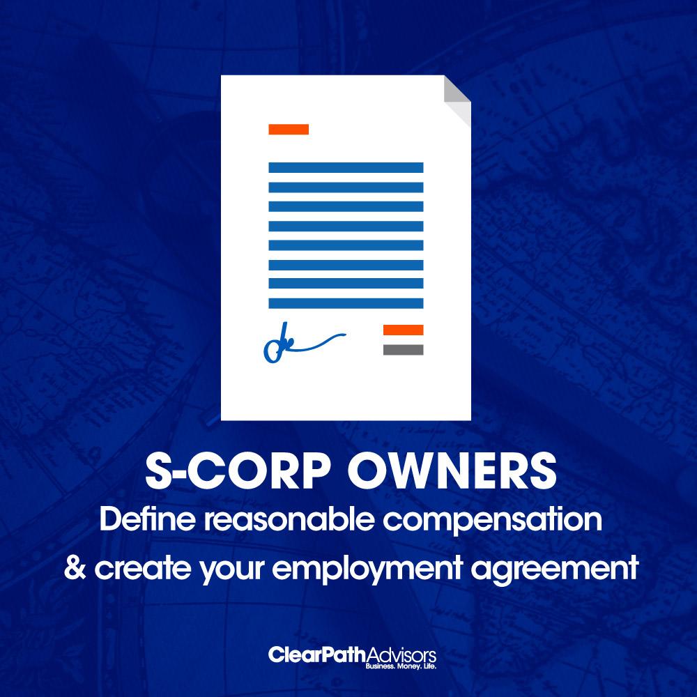 s-corp define reasonable compensation
