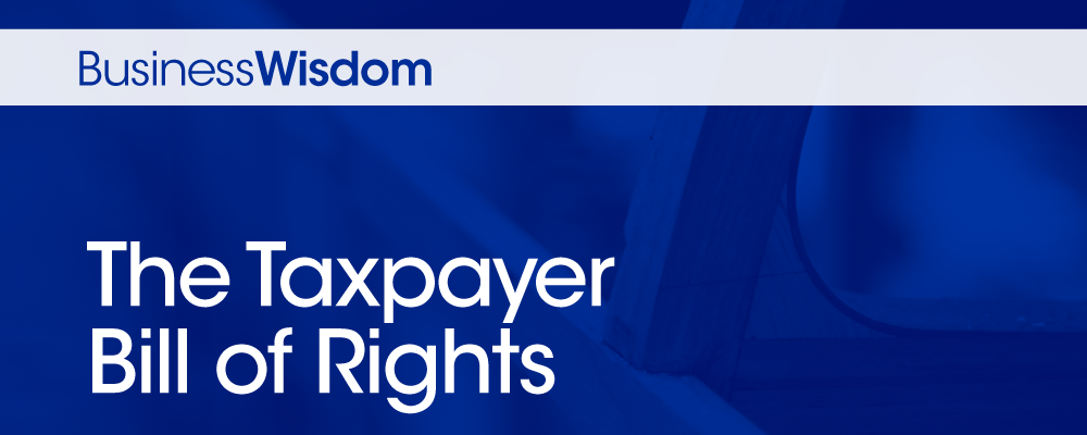 the taxpayer bill for rights