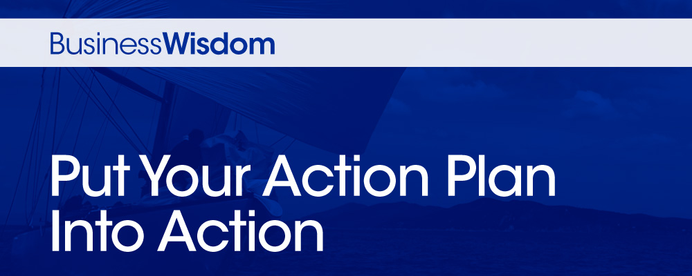 CPA Business Wisdom Put Your Action Plan Into Action